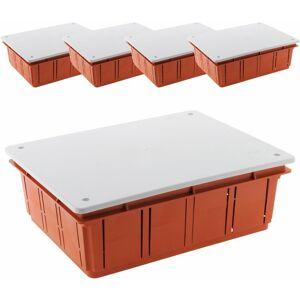 NONAME Lot de 5 boîtes de dérivation à encastrer 196 x 152 x 70 - Publicité