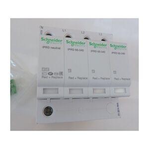 Schneider Electric - Parafoudre 65kA 3P+N type 2 avec report à distance 340V à - Publicité