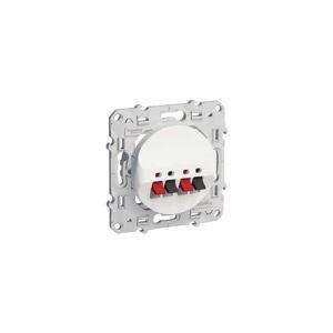 SCHNEIDER Prise HP (haut-parleurs) Blanc Schneider Electric Odace - Publicité