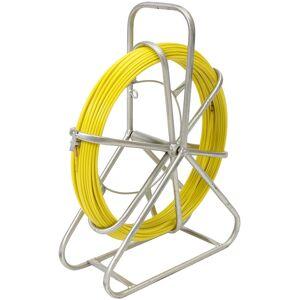AUGIENB Telstra NBN 4,5 mm x 70 mts Câble en fibre de verre Snake Fish Rodder - Publicité