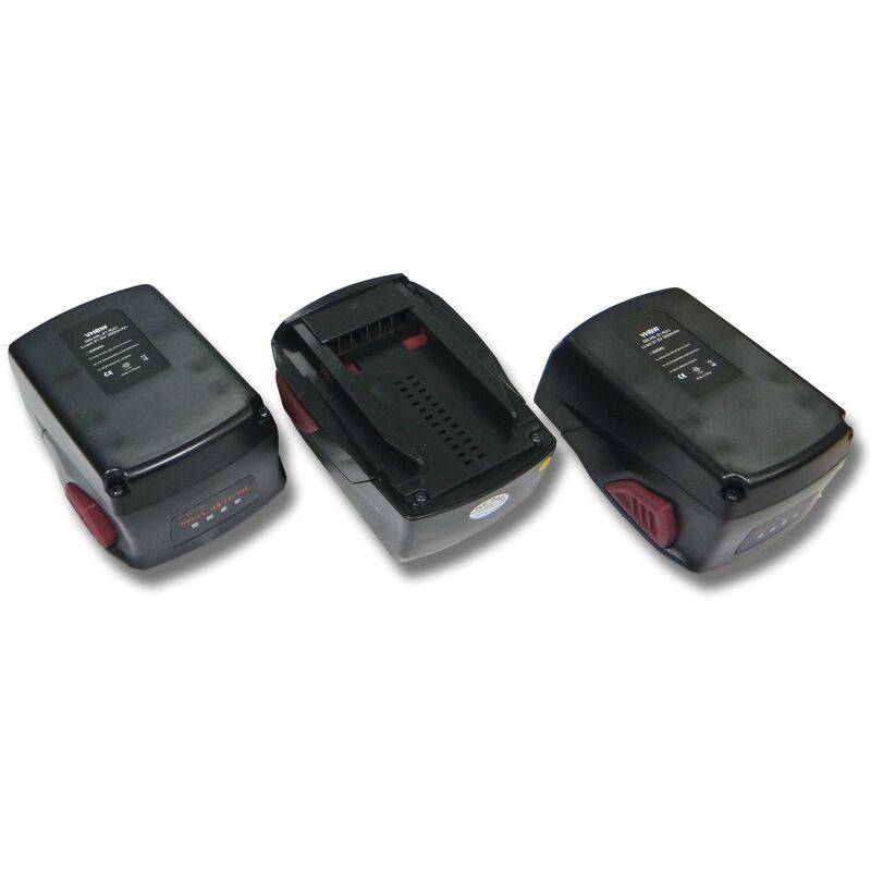 VHBW 3x Batterie Li-Ion 3000mAh (21.6V) vhbw pour outils SIW 22-A, SIW 22T-A, TE