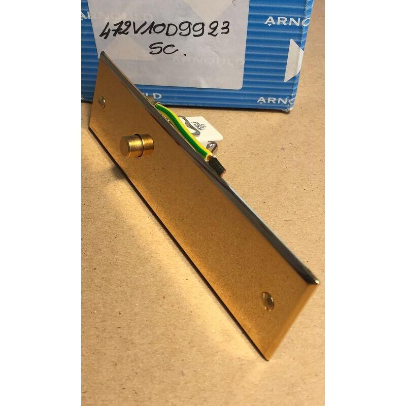 ARNOULD 472V10D9923SC Interrupteur Poussoir à bouton rond - 124x35mm - Or - Arnould