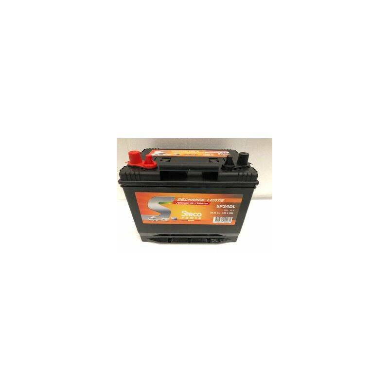 STECOPOWER Batterie 80 Ah (20h) 257x172x220 Gamme STECO Décharge Lente STECOPOWER