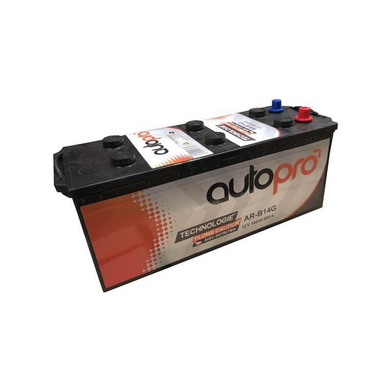 AUTOPRO Batterie AUTOPRO 1er prix AR-B14G 140AH 800 AMPS 513x185x223 +G