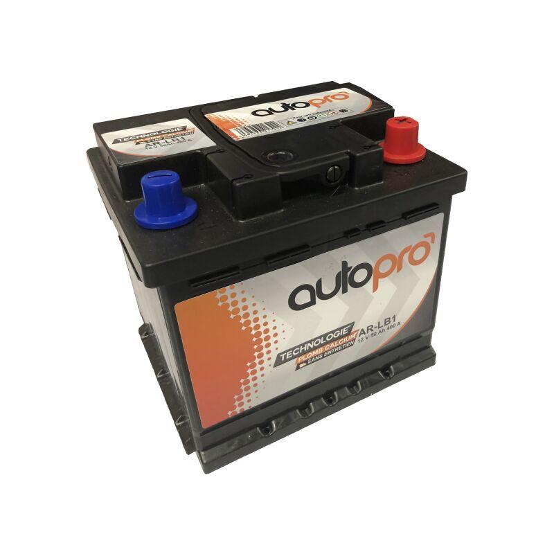 AUTOPRO Batterie 1er prix SMF AR-L1B 50AH 400 AMPS 207x175x175 +D - Autopro