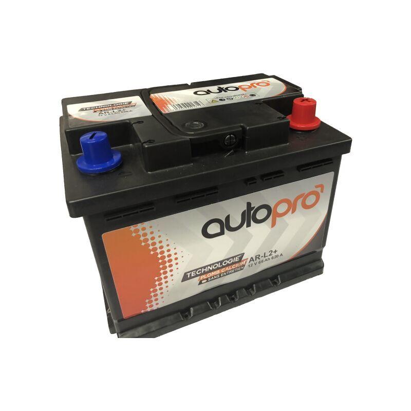 AUTOPRO Batterie 1er prix SMF AR-L2+ 66AH 620 AMPS 242x175x190 +D - Autopro