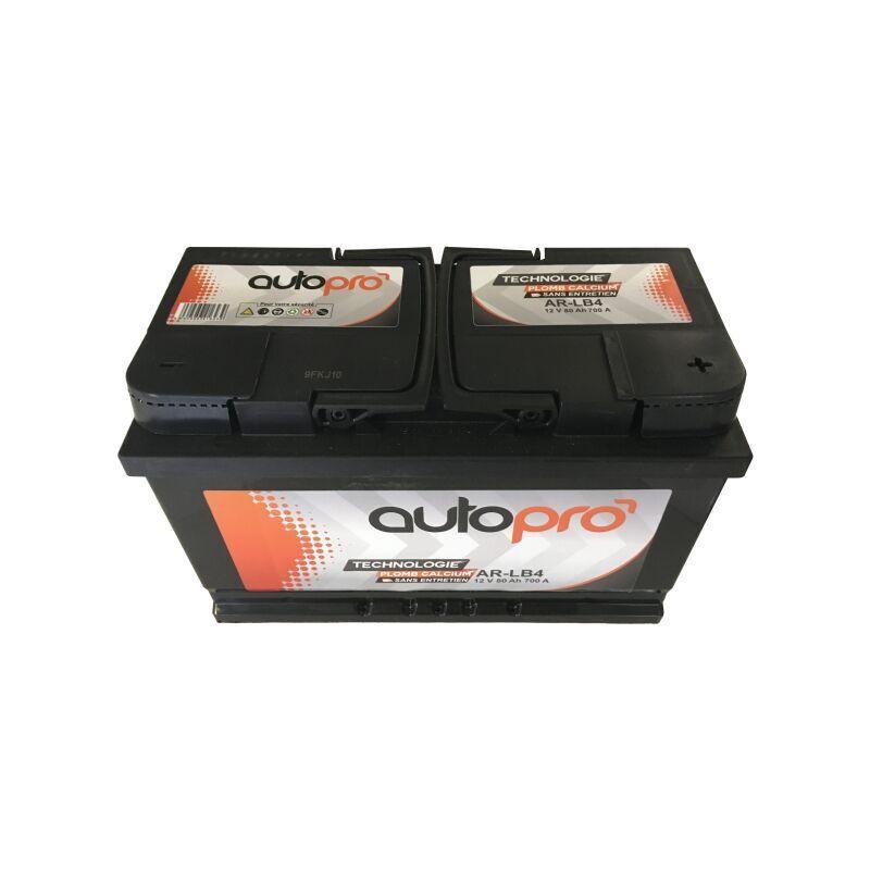 AUTOPRO Batterie 1er prix SMF AR-LB4 80AH 700 AMPS 315x175x175 +D - Autopro