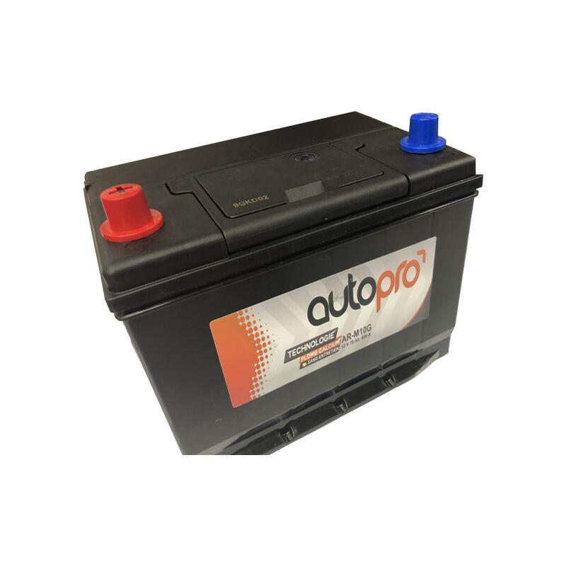 AUTOPRO Batterie 1er prix SMF AR-M10G 70AH 600 AMPS 261x175x220 +G - Autopro