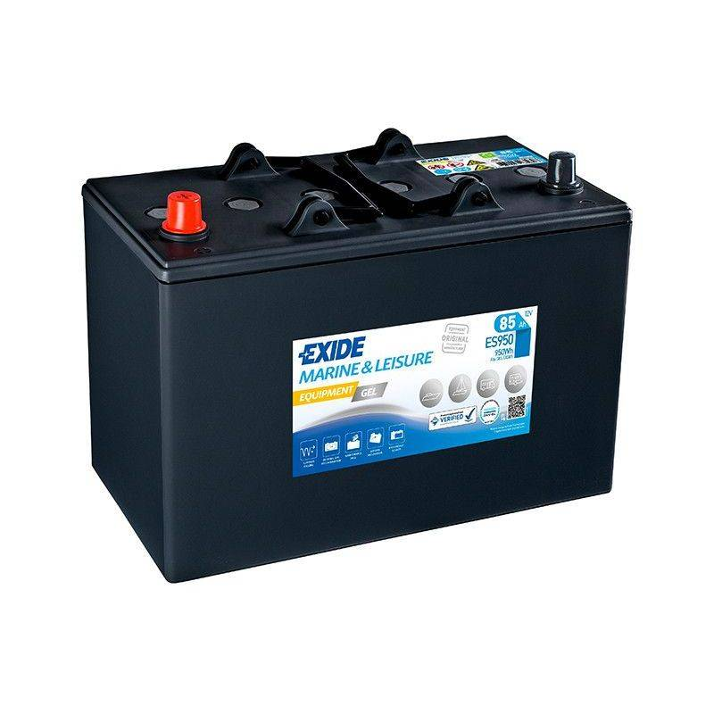 EXIDE Batterie décharge lente Exide Gel ES950 12v 85ah