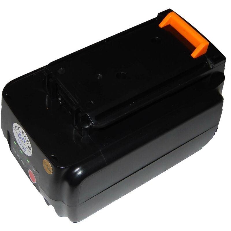 VHBW Batterie Li-Ion vhbw 1500mAh (36V) pour outils Black & Decker GLC3630L20,