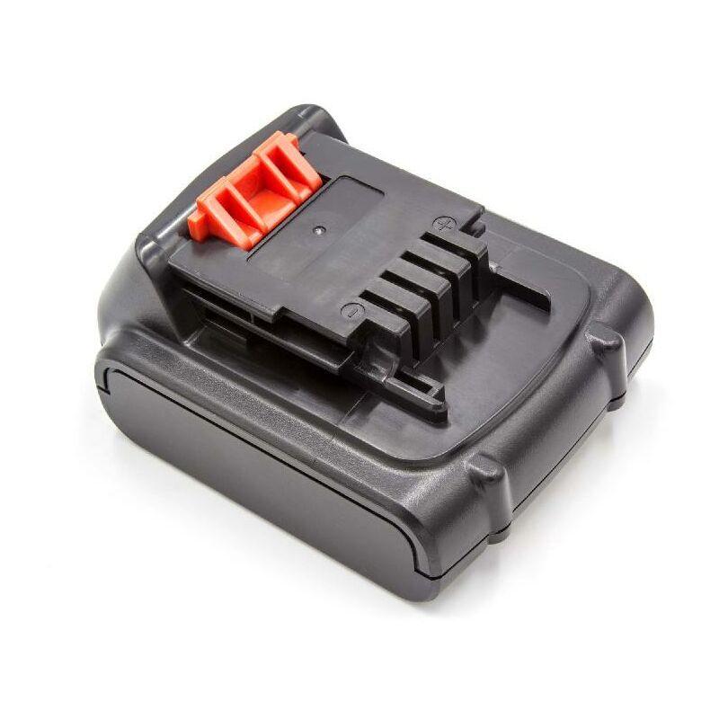 VHBW Batterie Li-Ion vhbw 2000mAh (14.4V) pour outils Black & Decker ASL146,