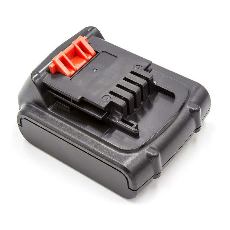 VHBW Batterie Li-ion vhbw 2000mAh (14.4V) pour outils Black & Decker SSL20SB,