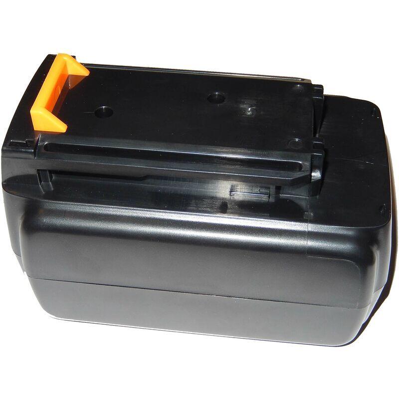 VHBW Batterie Li-Ion vhbw 2000mAh (36V) pour outils Black & Decker LST136, LST220,