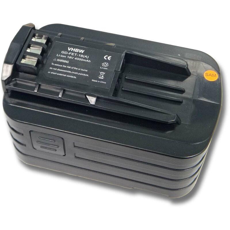 vhbw Batterie compatible avec Festo / Festool Carvex PSBC 420 Li EB, Carvex PSC