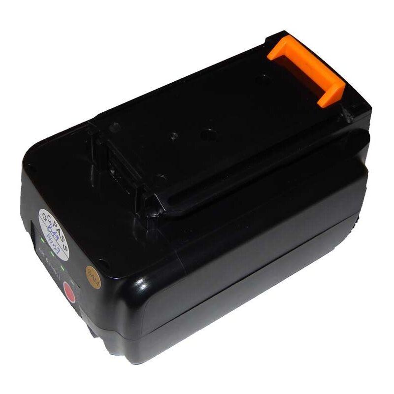 VHBW Batterie Li-Ion vhbw1500mAh (36V) pour outils Black & Decker LST136, LST220,