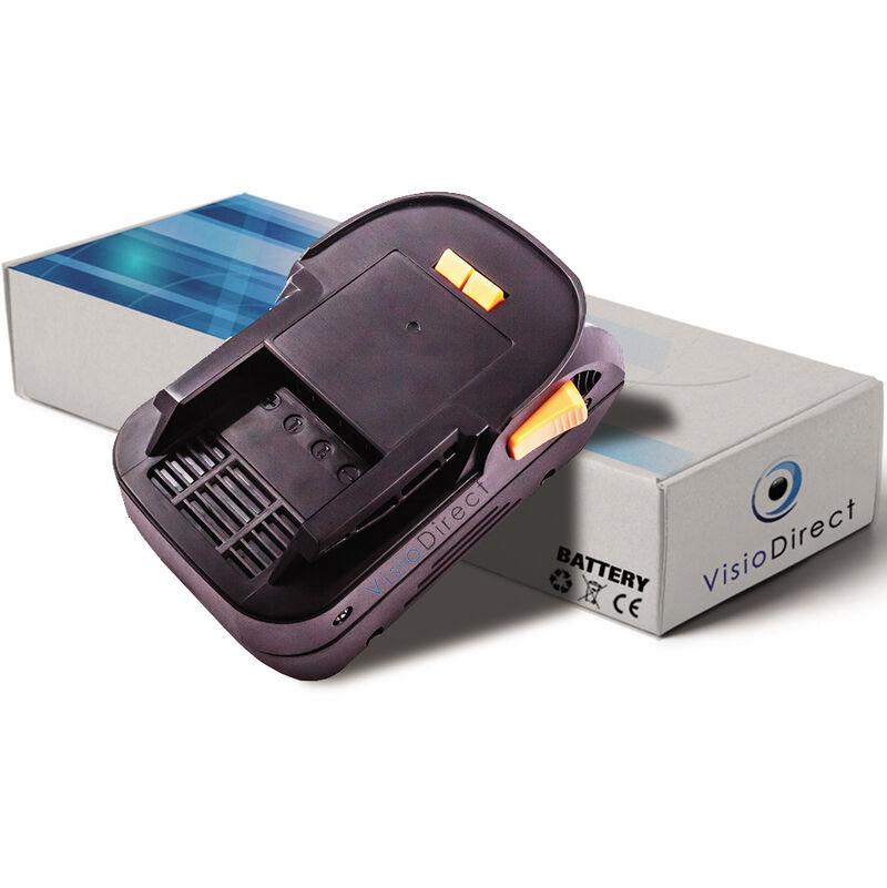 Visiodirect - Batterie pour AEG BST18X scie sauteuse pendulaire 3000mAh 18V