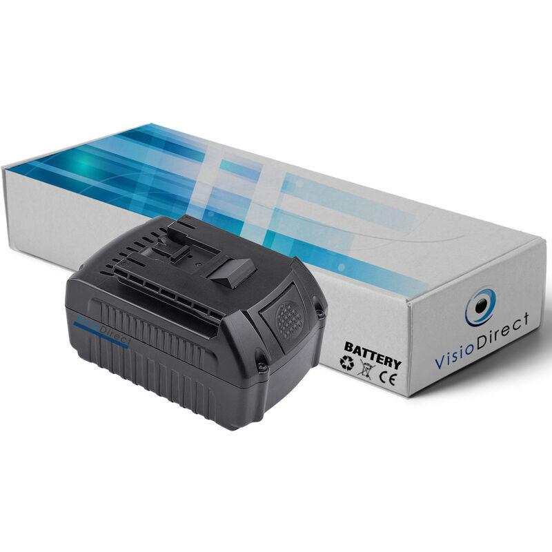 Visiodirect - Batterie pour Bosch CCS180B scie circulaire 4000mAh 18V