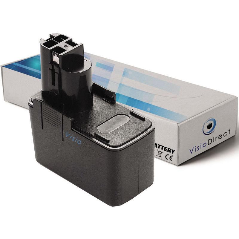Visiodirect - Batterie pour Bosch PAG12V GBH12VRE GSR12VE-2 GSB12VE-2 PSR12VE-2