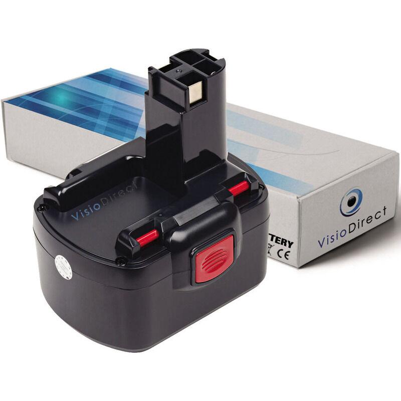 VISIODIRECT Batterie pour Bosch PSR12 perceuse visseuse 3000mAh 12V
