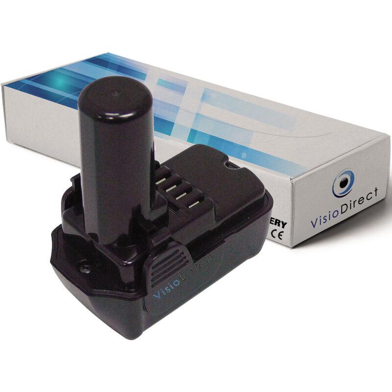 Visiodirect - Batterie pour Hitachi CJ10DL CR 10DL CR10DL DB 10DL DB10DL DB3DL
