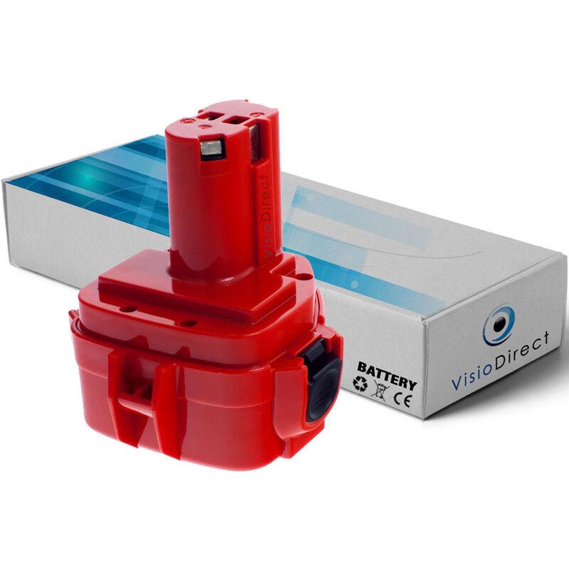 VISIODIRECT Batterie pour Makita 4331DWAE scie sauteuse 3000mAh 12V