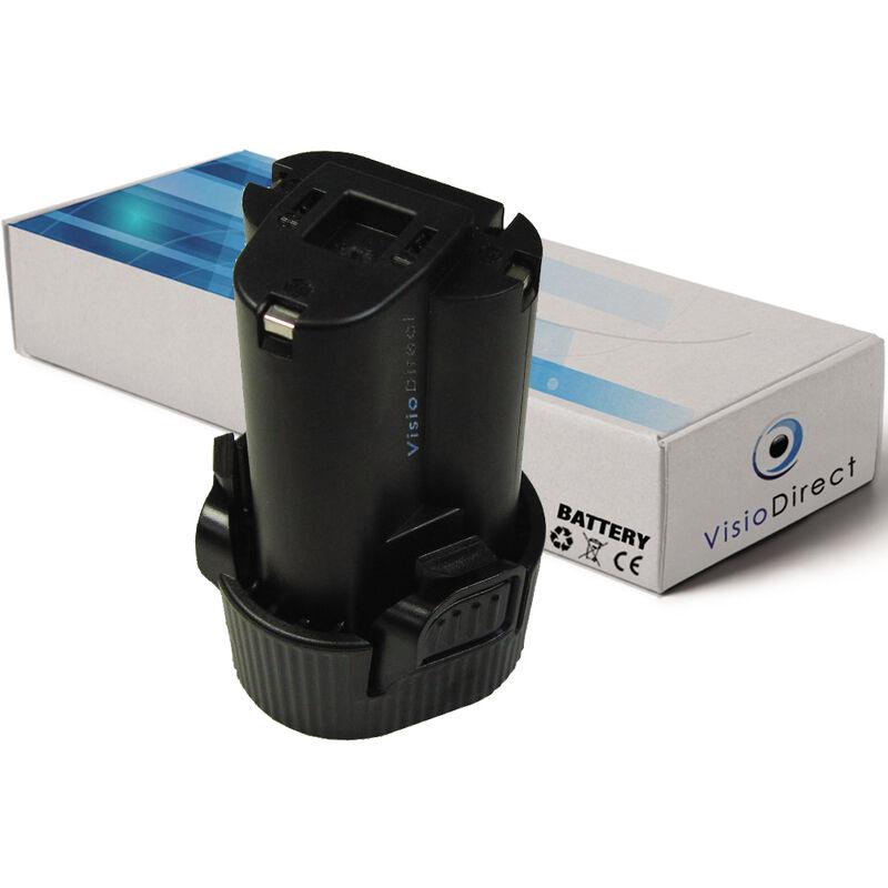 Visiodirect - Batterie pour Makita JV100DW scie sauteuse 1500mAh 10.8V