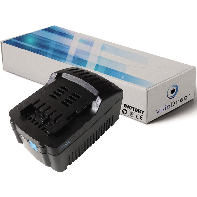 Visiodirect - Batterie pour Metabo STA 18 LTX 140 ULA 14.4-18 3000mAh 18V