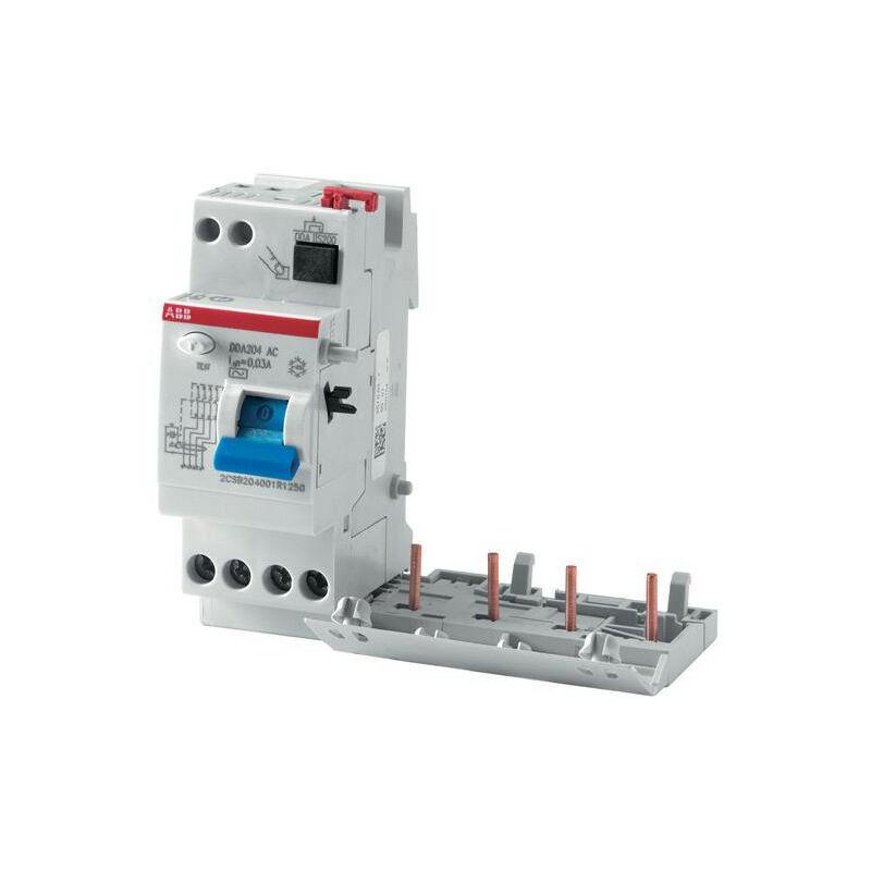 ABB Bloc Dif. (DDA204) 4P 63A 100mA Selectif (Pour S200) 2CSB204201R2630 ABB 452362