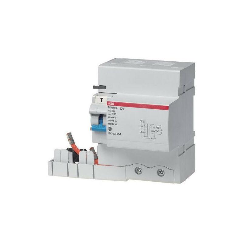 ABB - Bloc Dif. (Dda804) 4P 100A 300mA Selectif (Pour S800) 2CSB804201R3000