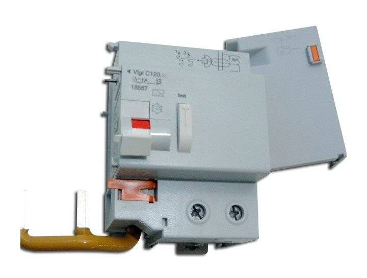 SCHNEIDER ELECTRIC Bloc differentiel 125A 2P 1000mA type SI selectif VIGI C120 Multi9 SCHNEIDER