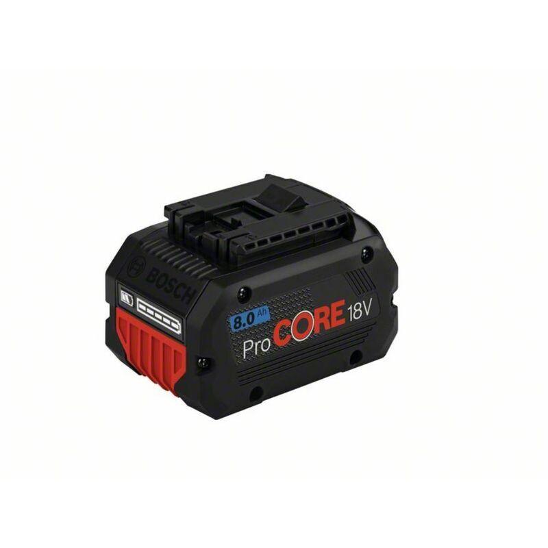 BOSCH Batterie BOSCH GBA 18V 8,0 Ah ProCORE