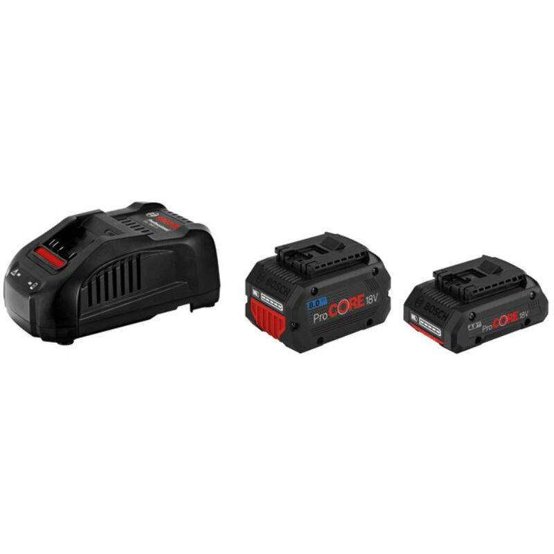 Bosch Professional Set de base 1 batterie ProCORE18V 4.0Ah + chargeur GAL 1880