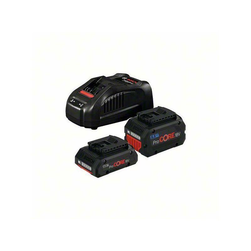 Bosch Starter-Set 1 x batterie 4.0Ah + 1 x batterie 5.5Ah + Chargeur rapide GAL