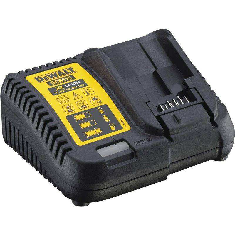 DEWALT CHARGEUR DEWALT DCB115 pour batteries Li-ion XR 10,8V, 14,4V, 18V