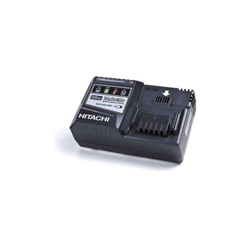 Hitachi - Hikoki - Chargeur rapide Li-ion Multi-volt 14,4-18V - UC18YSL3W0Z