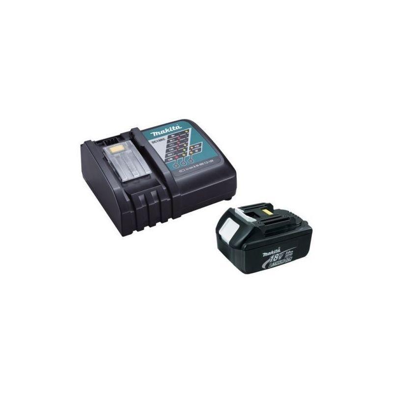 MAKITA Chargeur rapide Makita DC18RC + batterie 18v BL1850B 5Ah Li-ion LXT