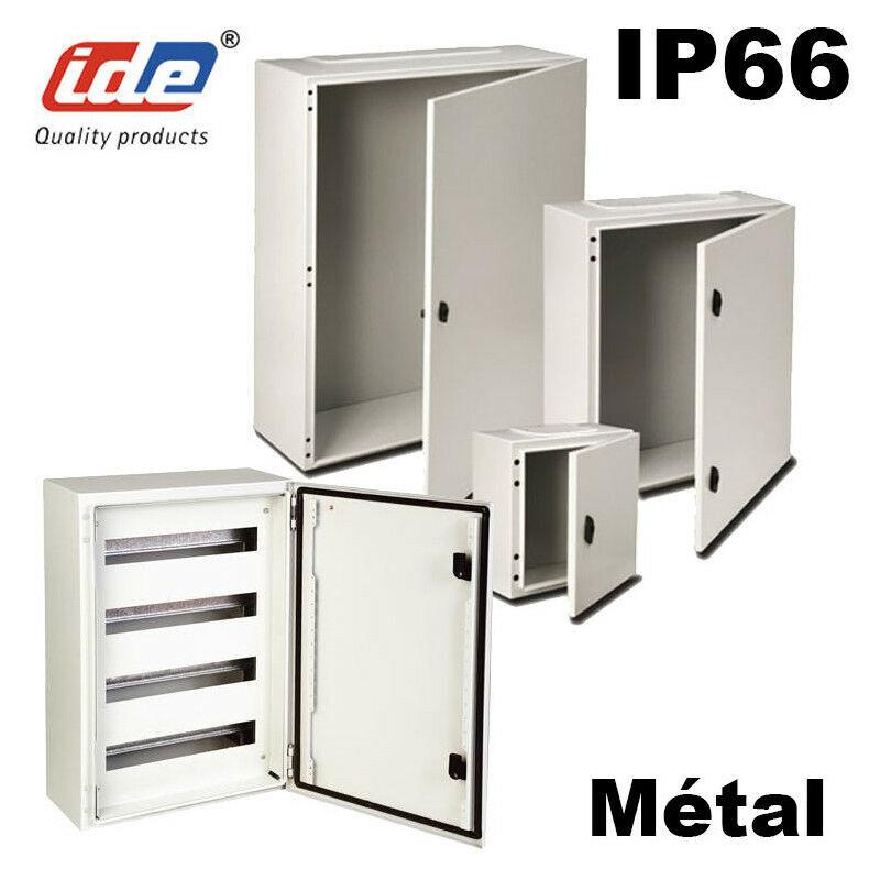 IDE Coffret électrique étanche IP66 en métal IDE Argenta 1200X1000X400 PO