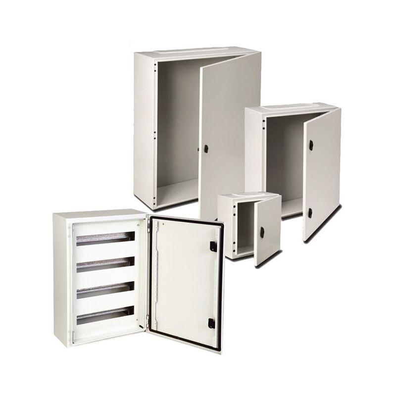 IDE Coffret électrique étanche IP66 en métal IDE Argenta 500X400X250 Porte vitrée