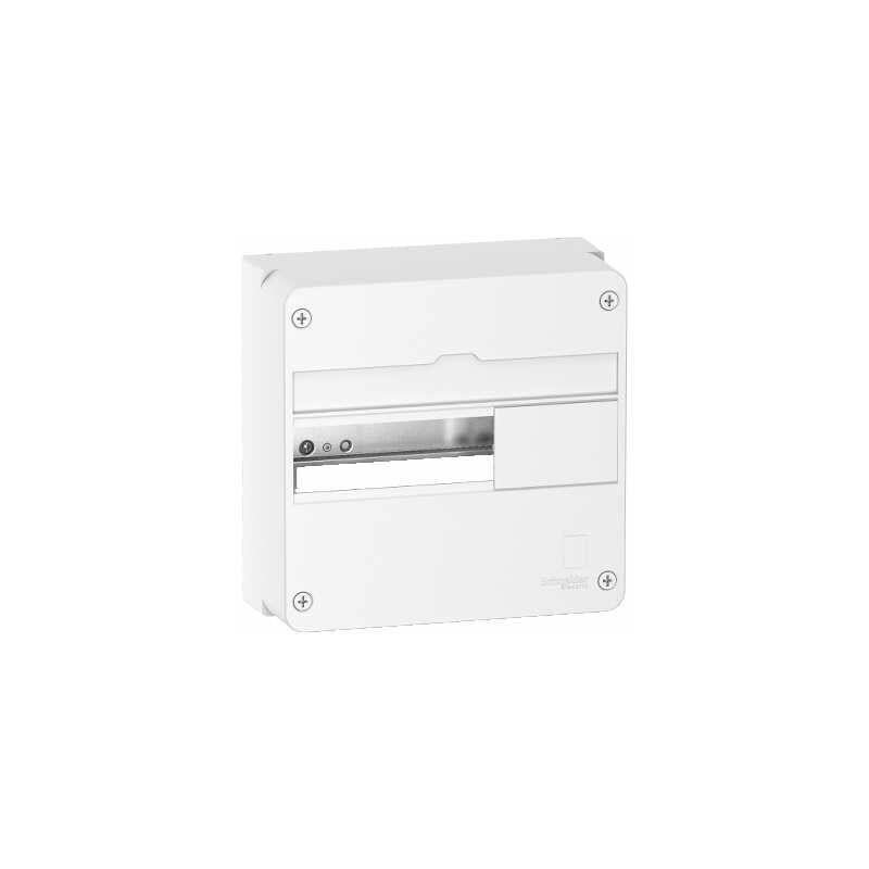 SCHNEIDER ELECTRIC Schneider - Resi9 - Coffret en saillie Blanc (RAL 9003)- 1 rangée de 13 modules