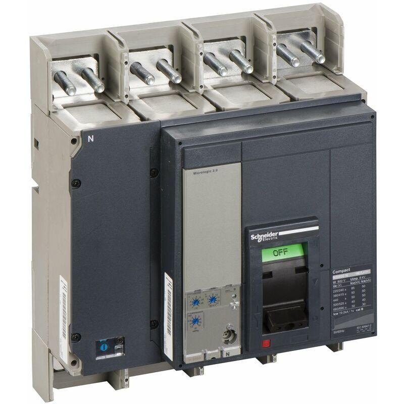 SCHNEIDER Compact NS800N - disjoncteur - Micrologic 2.0 - 800A - 4P 4d - 33469