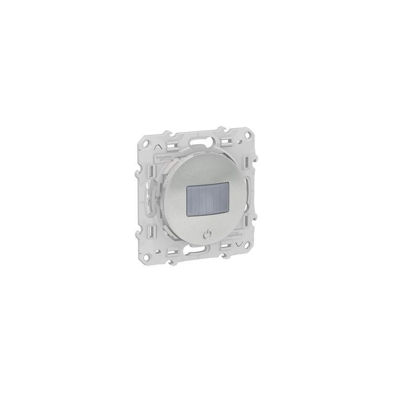 SCHNEIDER Detecteur + variateur Bluetooth Odace Wiser - Alu / Schneider