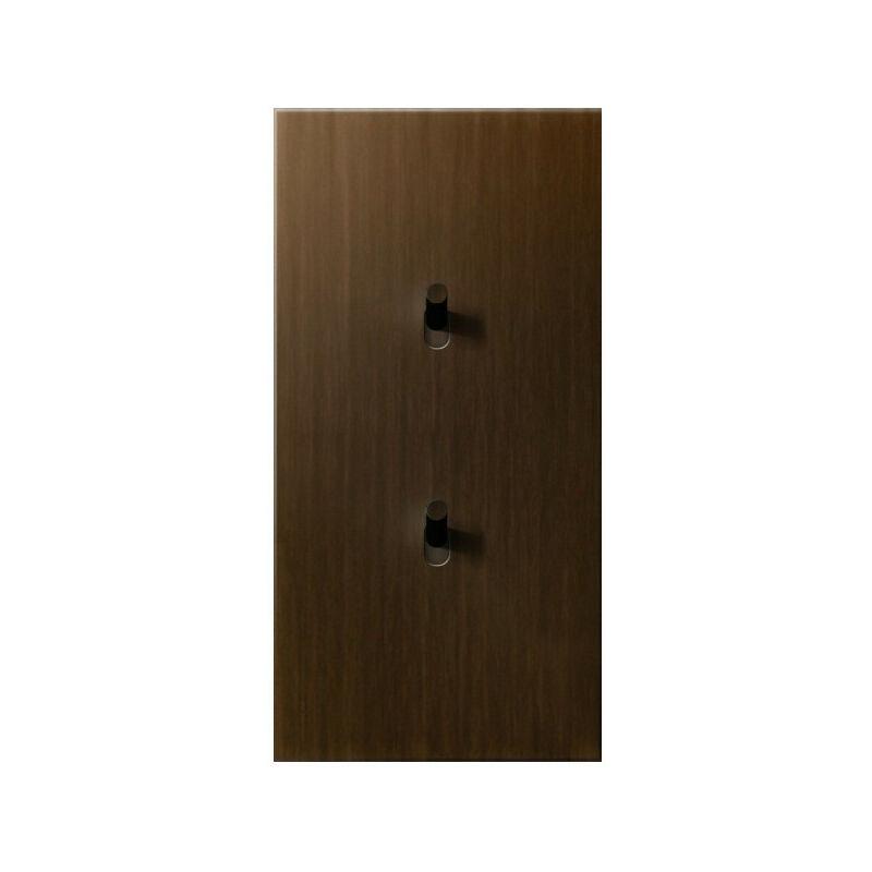 ARNOULD Deux va-et-vient 10A bronze Art d'Arnould 67304