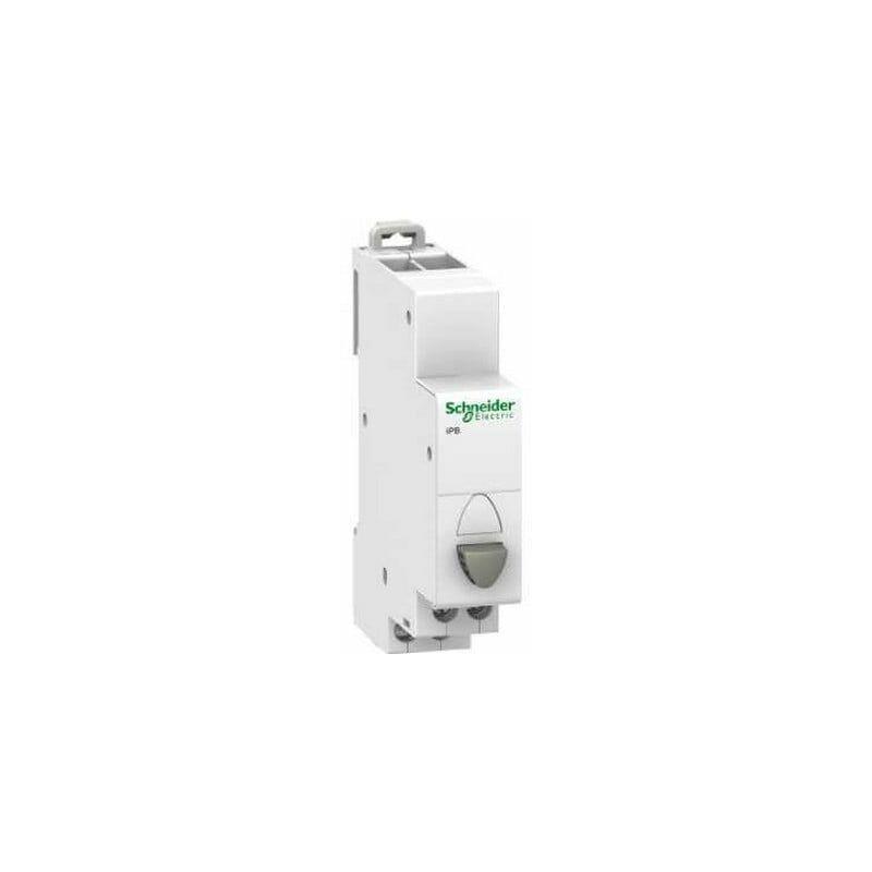 SCHNEIDER ELECTRIC Bouton-poussoir simple Acti9 iPB - 1 No + 1 Nf 20A 230VCA - Gris - Schneider