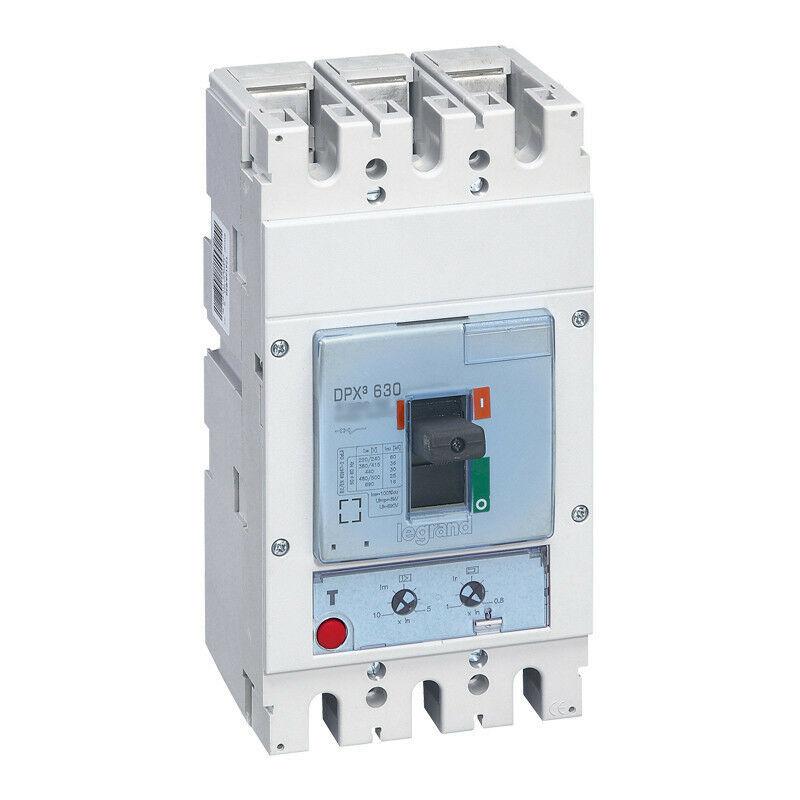 Legrand - Disjoncteur magnétothermique DPX630 pouvoir de coupure 70kA 400V~ 3P