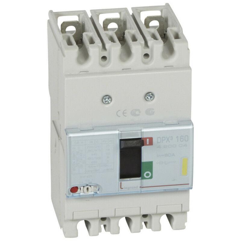 Legrand - Disjoncteur magnétothermique DPX160 pouvoir de coupure 16kA 400V~ 3P
