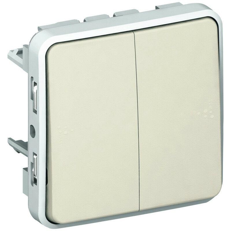 Legrand - Double interrupteur ou va-et-vient Plexo composable IP55 10AX 250V