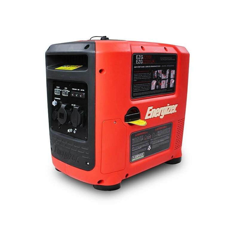 ENERGIZER Groupe électrogène essence Inverter 2200 W 2000 W - démarrage manuel