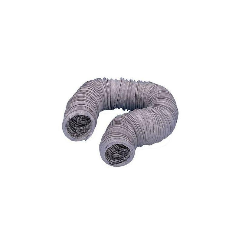 UNELVENT Gaine souple PVC renforcée, diamètre 80 mm - 80