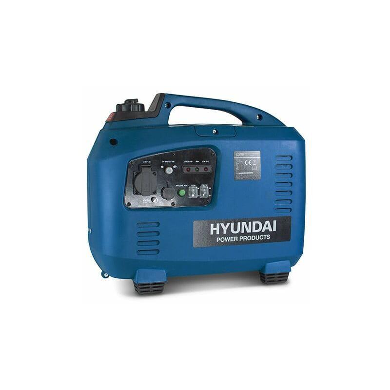 Hyundai - Groupe électrogène essence Inverter 2000 W 1700 W - démarrage manuel