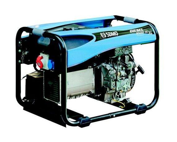 SDMO Groupe Electrogene Diesel 6500Te Xl C 5200W Tri Professionnel_S11689 - S11689